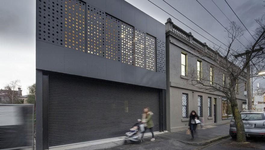 Artist apartment exterior