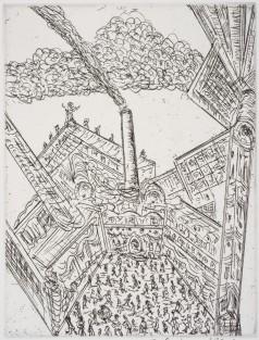 Senbergs, Jan 'Promenade of the Unaware'