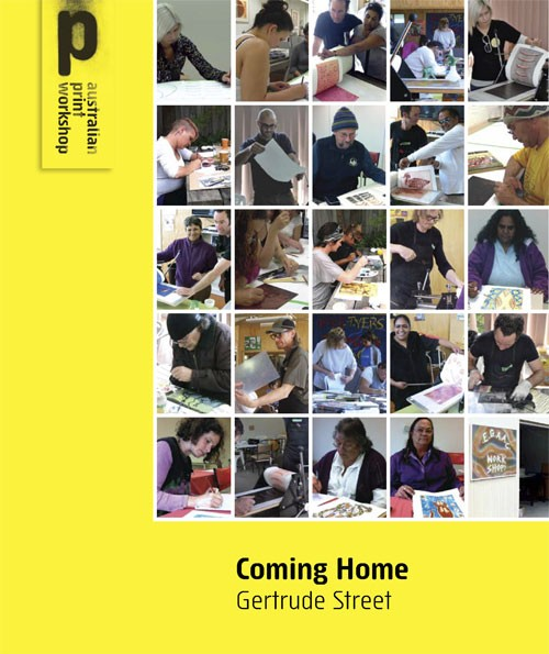 Image of the printed brochure for the Coming Home project
